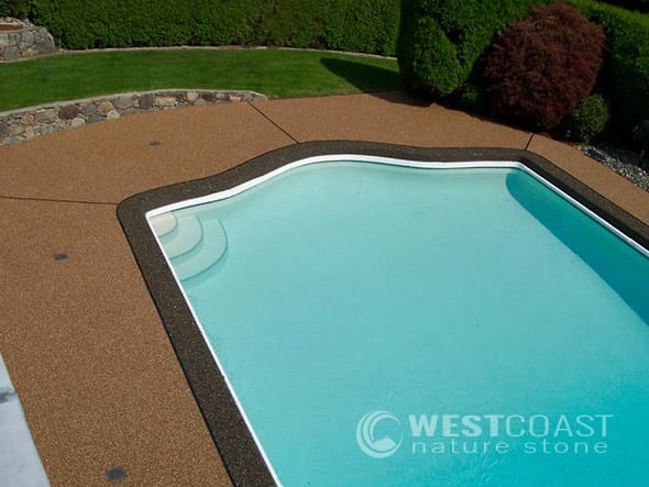 Charmant Surrey Pool Patio Resurfacing