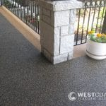Entrance Patio Resurfacing