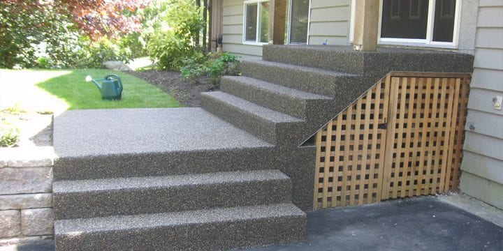 Resurfacing Entrance Stairs